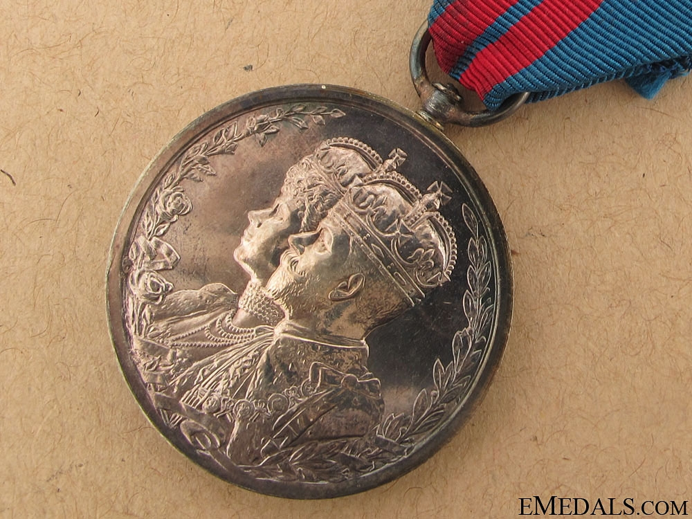 King George V and Queen Mary Coronation, Delhi Durbar Medal 1911
