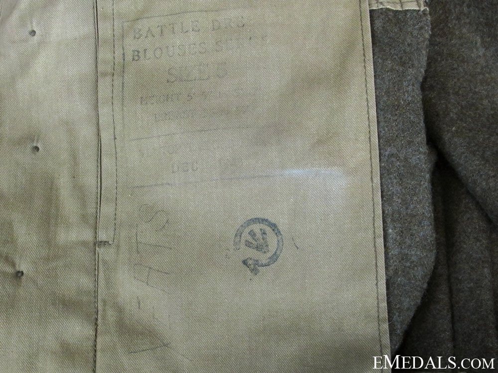 A Named WWII Canadian Battledress