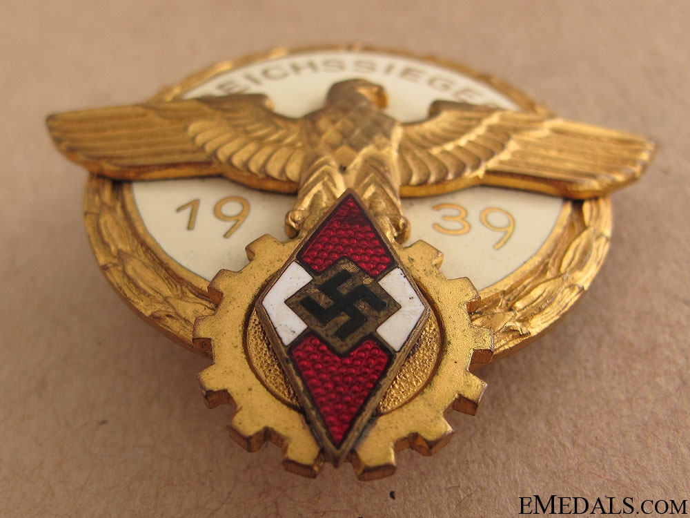 Victors Badge - National Trade Competition