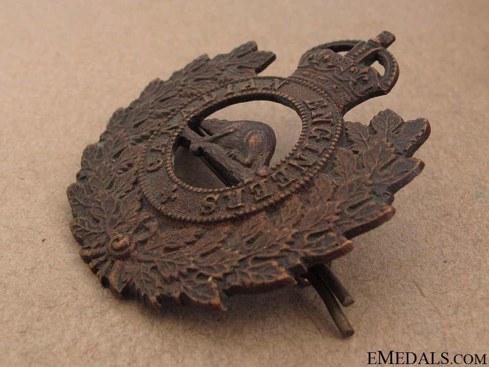 WWI Canadian Engineers Cap Badge