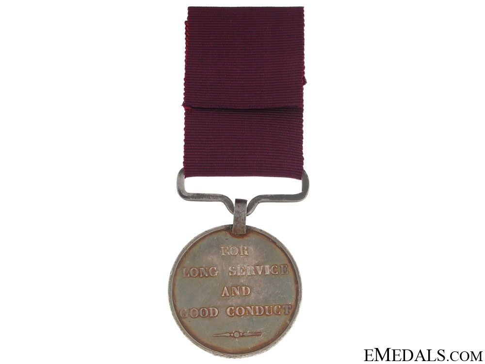 Army Long Service and Good Conduct Medal - Royal Artillery