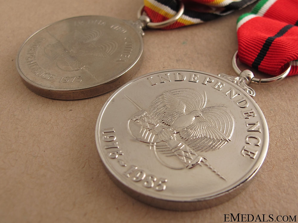 Papua New Guinea Independence Medals