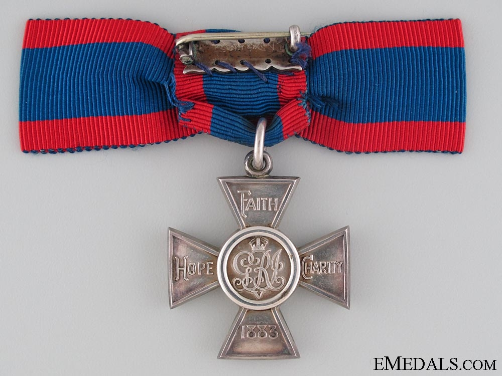 A George V Royal Red Cross; 2nd Class