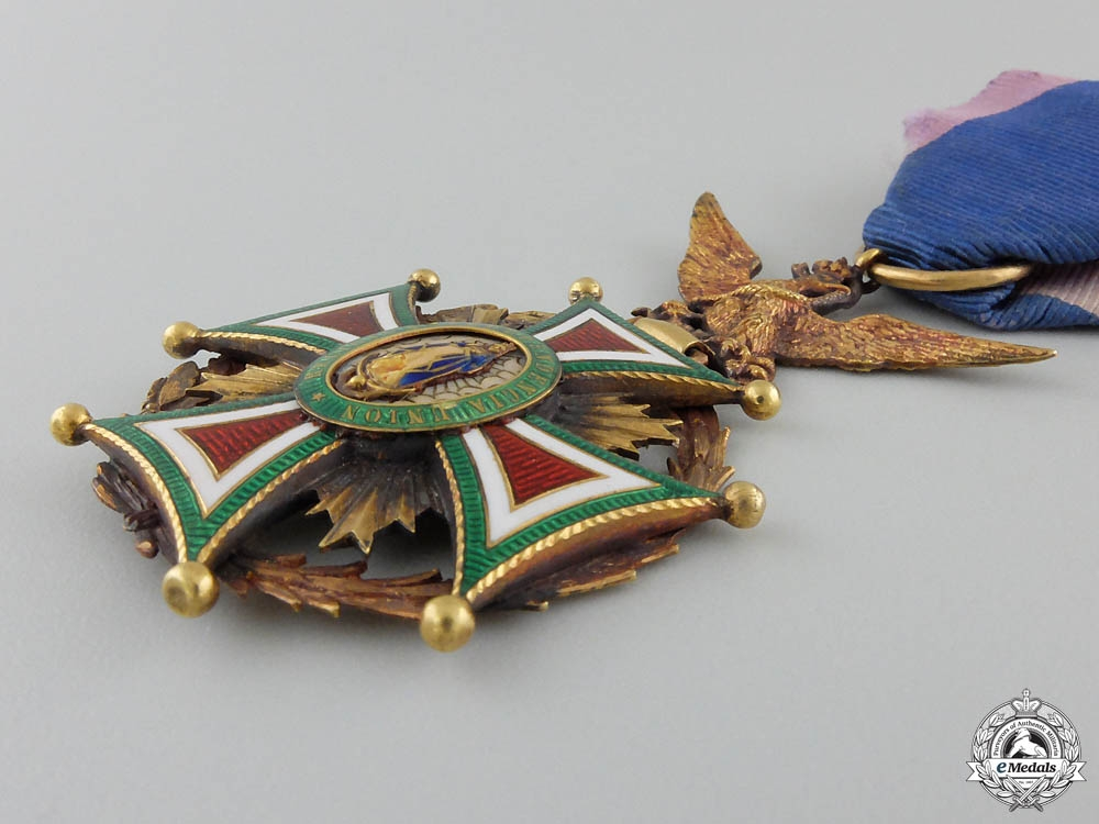 A Mexican Order of Our Lady of Guadaloupe in Gold; Officer