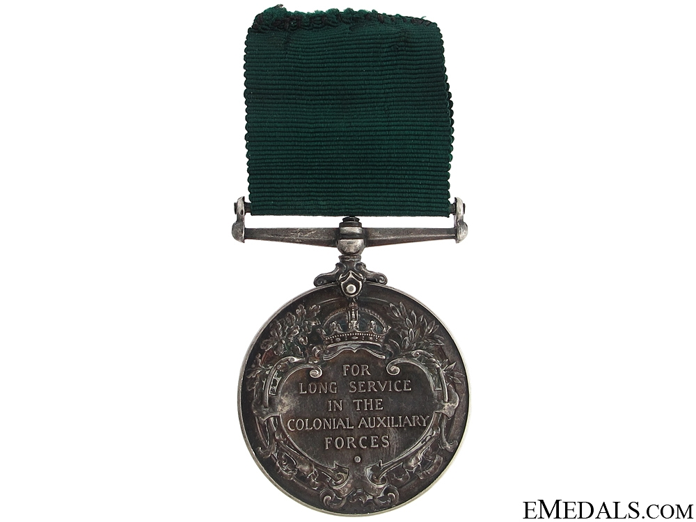 Colonial Auxilliary Forces Long Service Medal