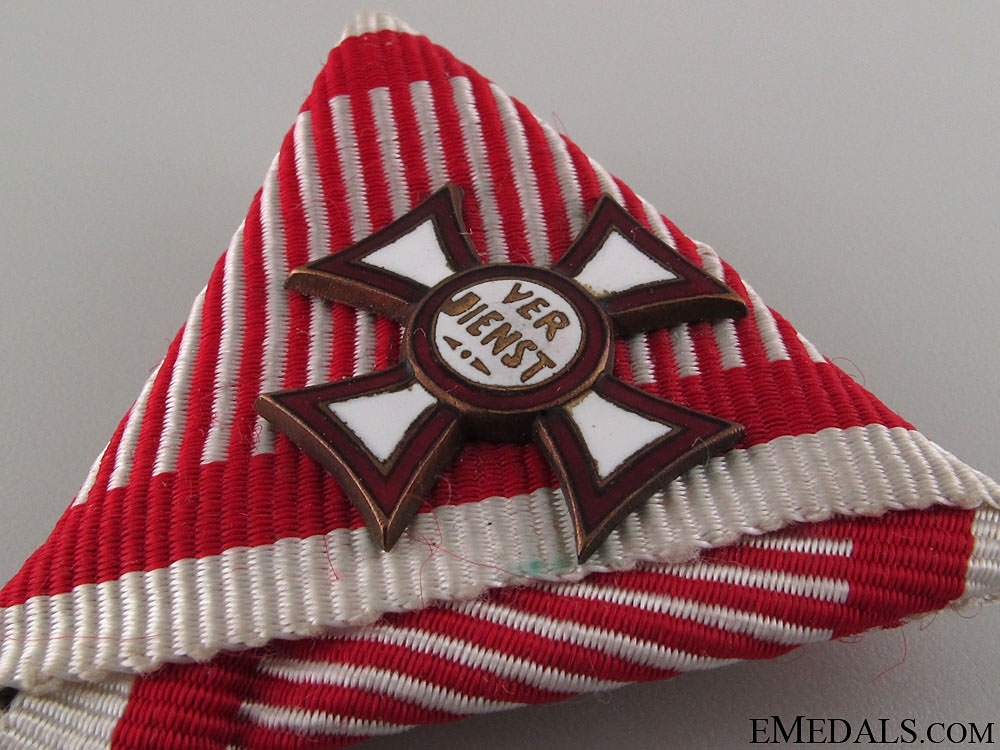 Military Merit Cross with 1st Class with Decoration