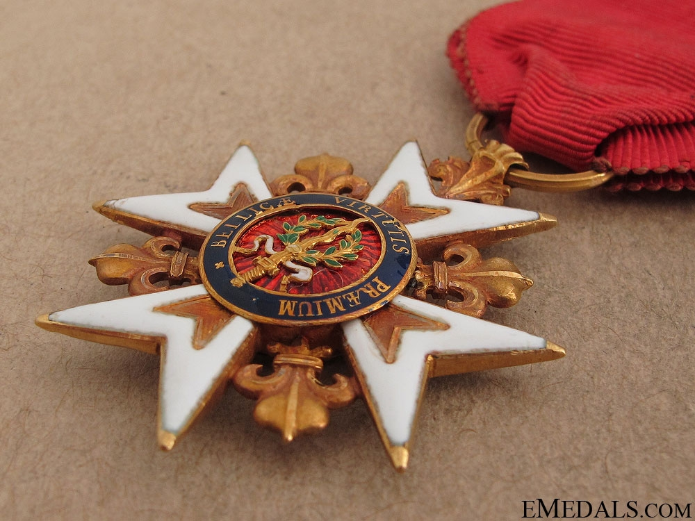 A Gold Royal Military Order of St. Louis c.1790