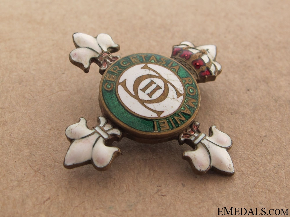 A Romanian Scout Badge