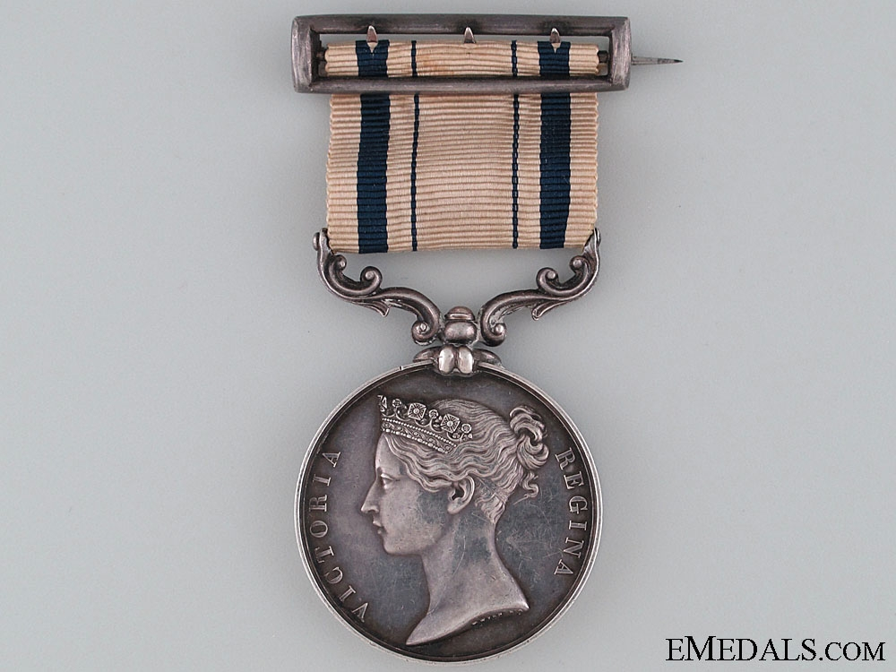 1853 South Africa Medal to Commander of Cdn Militia 4500