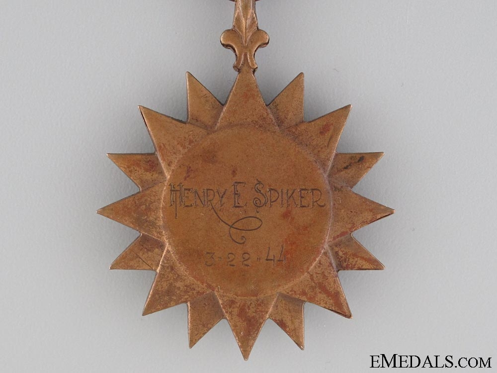 A 1943 Air Medal with 5 Oak Leaf Clusters to 701 Squadron