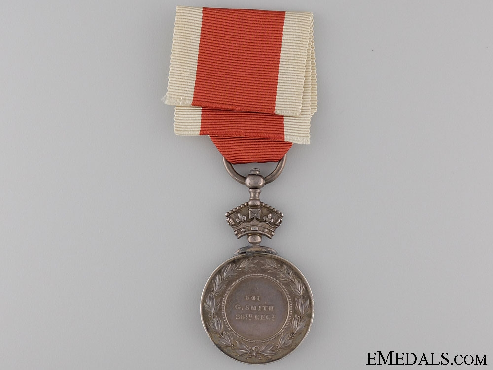1867 Abyssinia Medal to the 26th Regiment