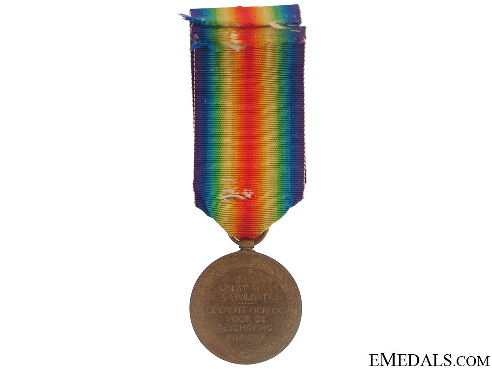 Victory Medal - 11th South African Infantry, SAEF