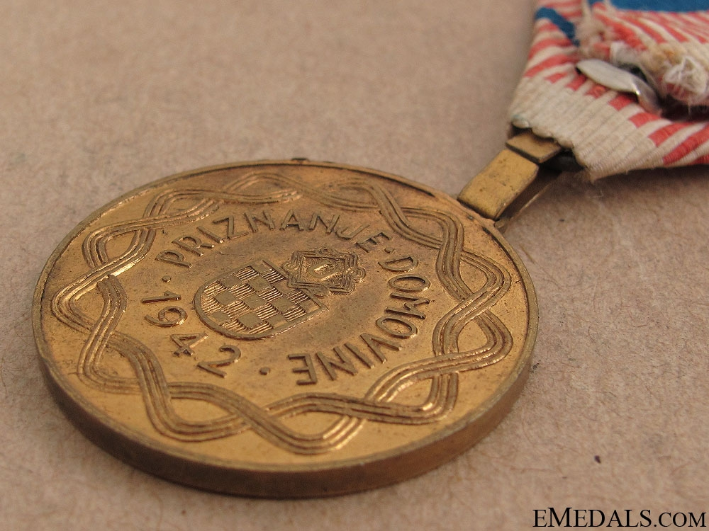 WWII Croatian Wound Medal