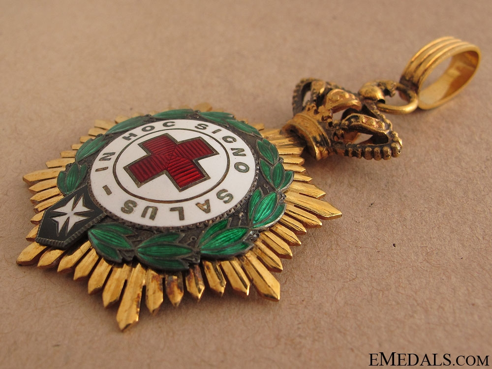 A Spanish Red Cross Decoration