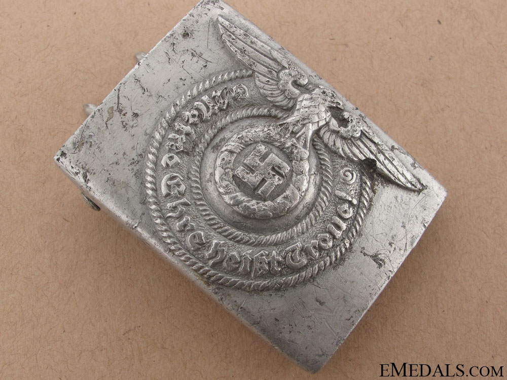 """SS EM/NCO'S Buckle by """"RZM 36/39 SS"""