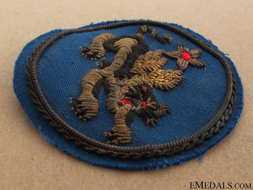 WWII USAAF 14th Air Force Flying Tigers Sleeve Insignia