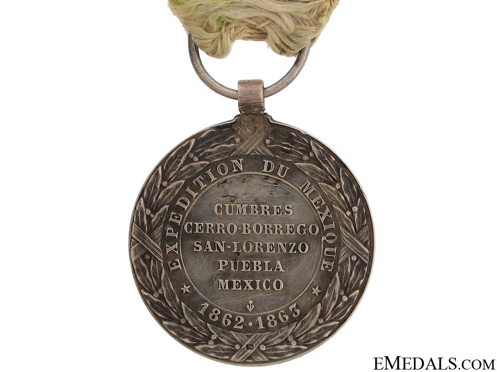 1862-63 Mexican Campaign Medal