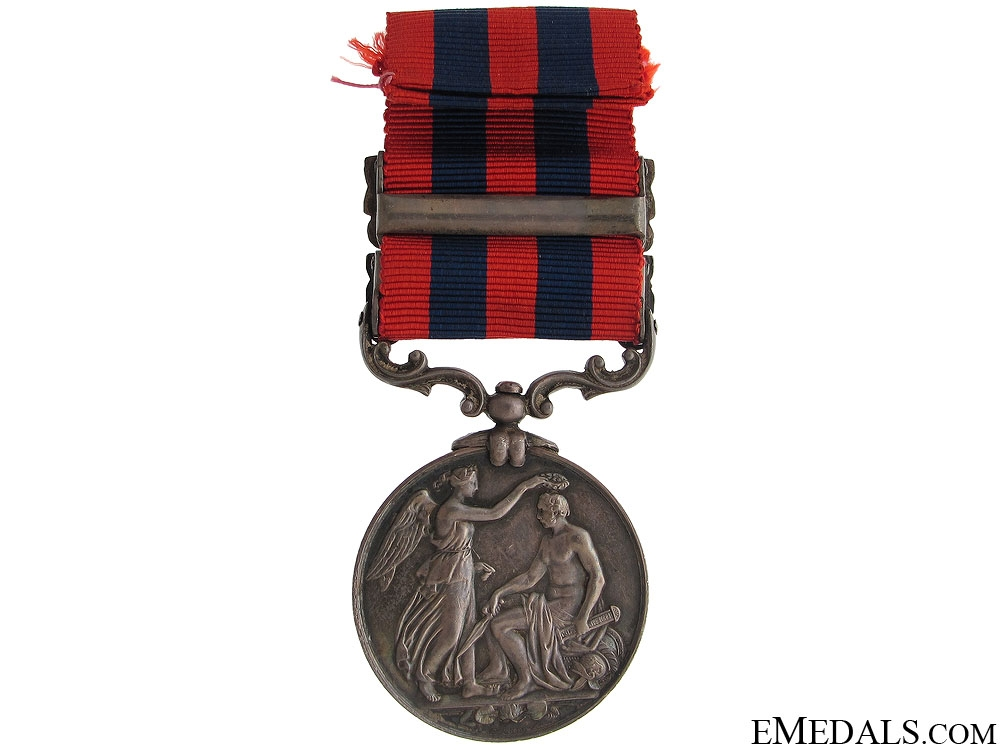 India General Service Medal - Rifle Brigade