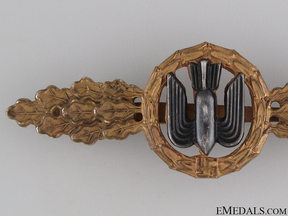 Squadron Clasp for Bomber Pilots - Gold