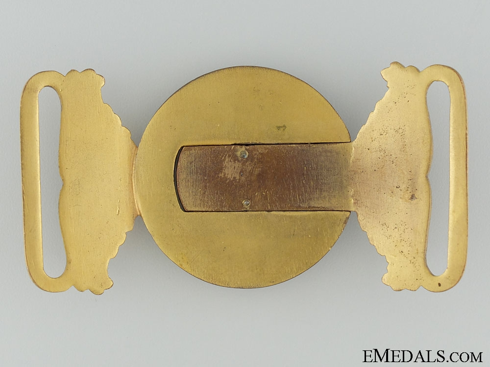 A First War Nursing Sister's Buckle
