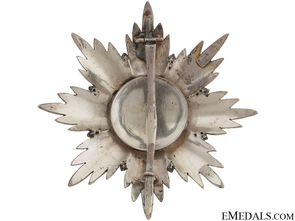 Order of Lion and Sun - Breast Star