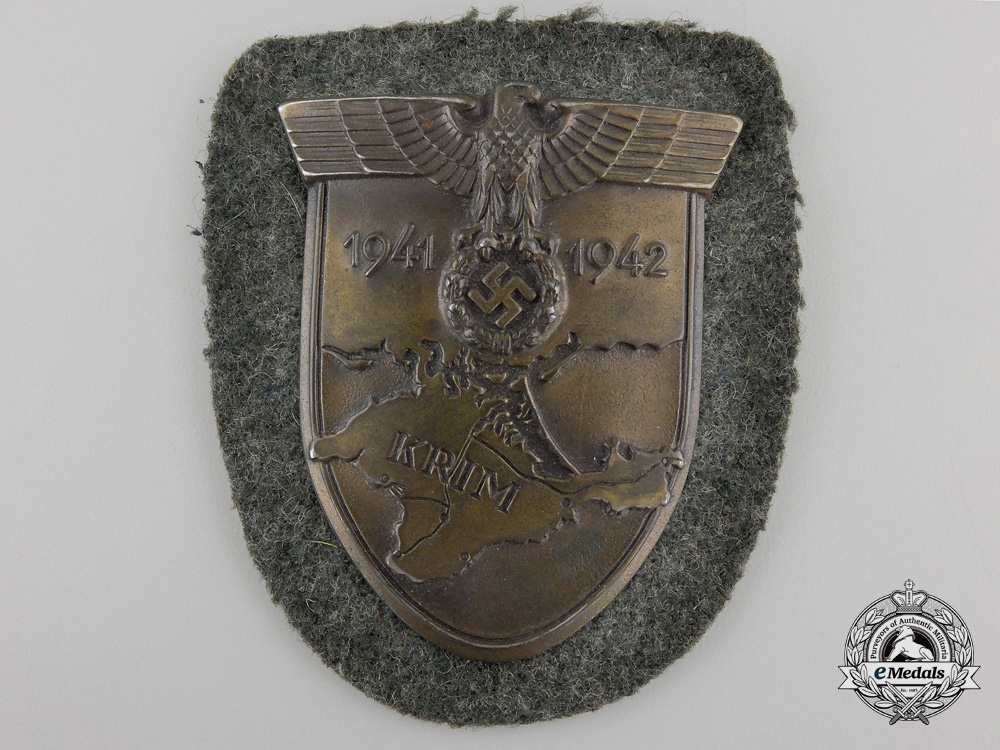 An Army Issued Krim Campaign Shield