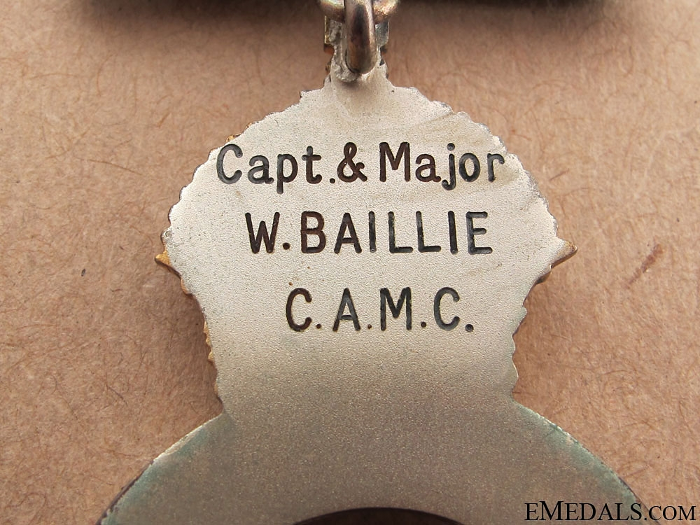 Colonial Auxiliary Forces Officers' Decoration - CAMC