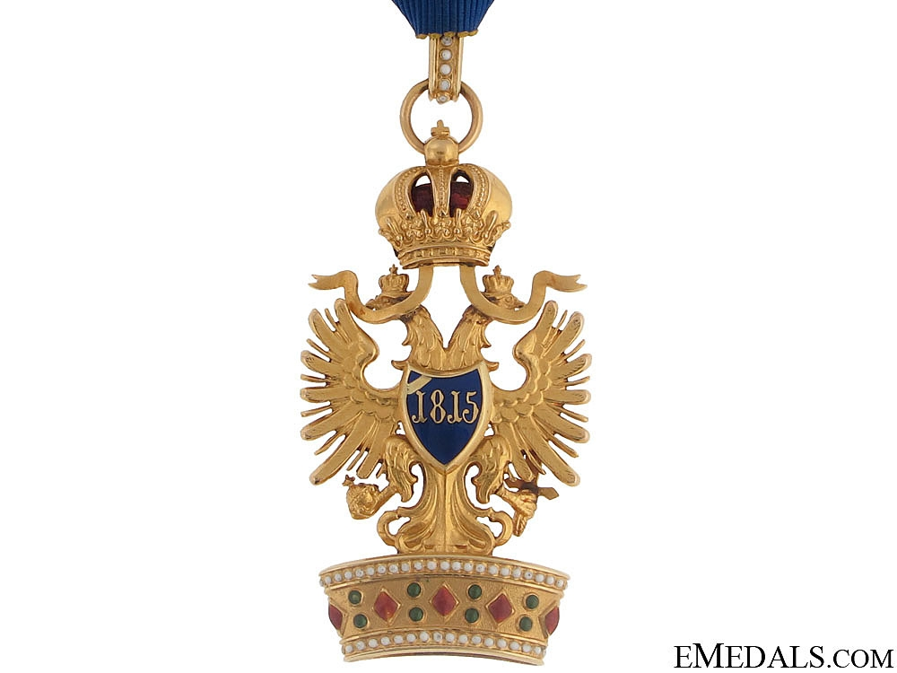 Order of the Iron Crown - Gold