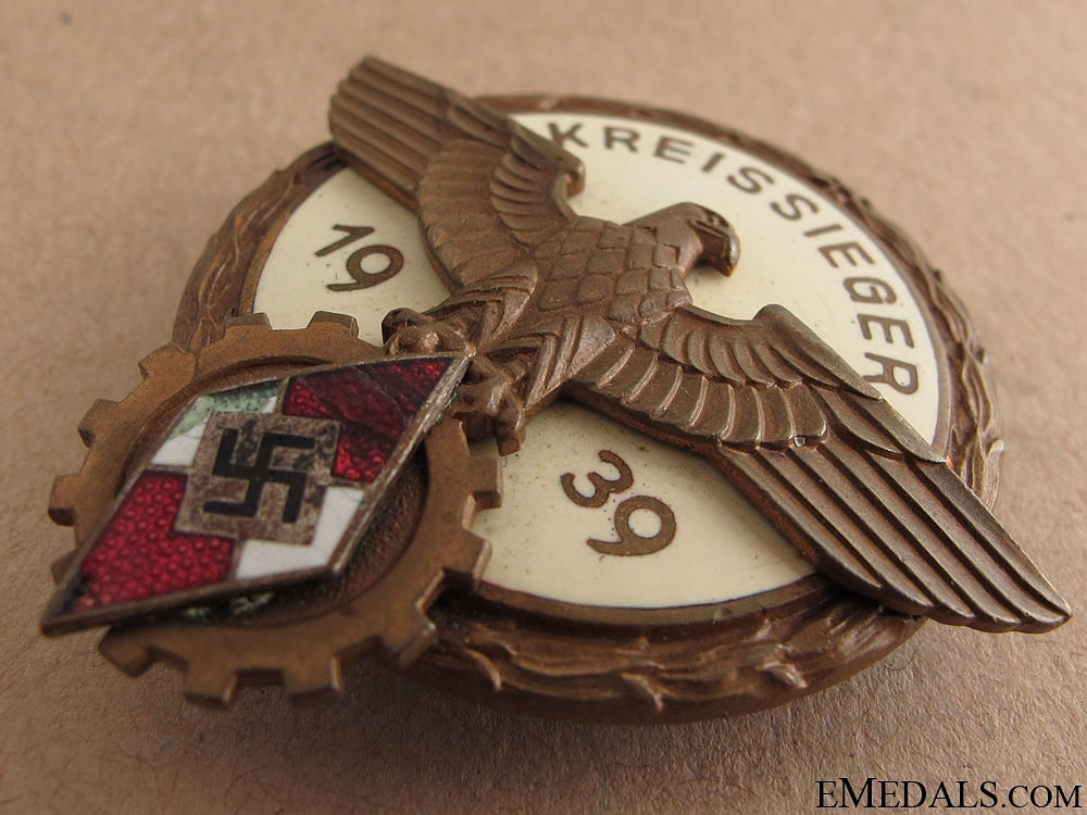 Victors Badge in the National Trade Competition