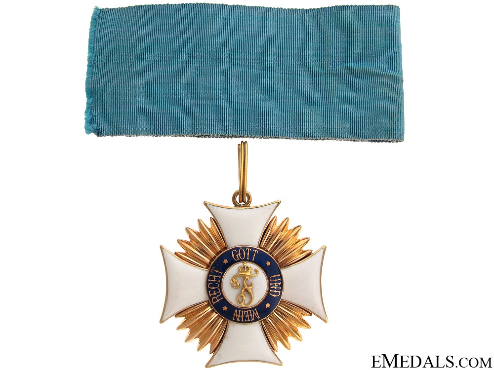 The Friedrich Order in Gold