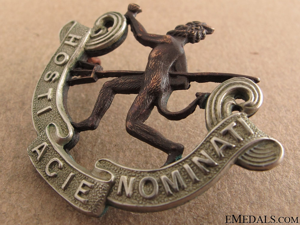 WWI 8th Battalion Officers Cap Badge - CEF