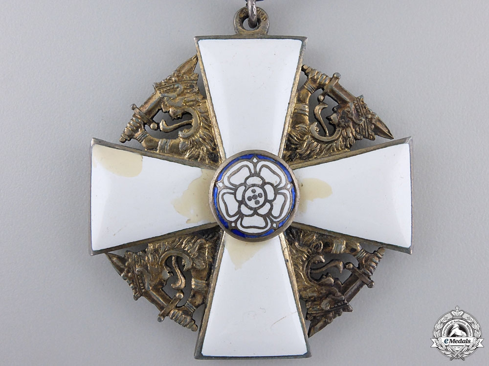 A Finnish Order of the White Rose; Commander by A. Tillander