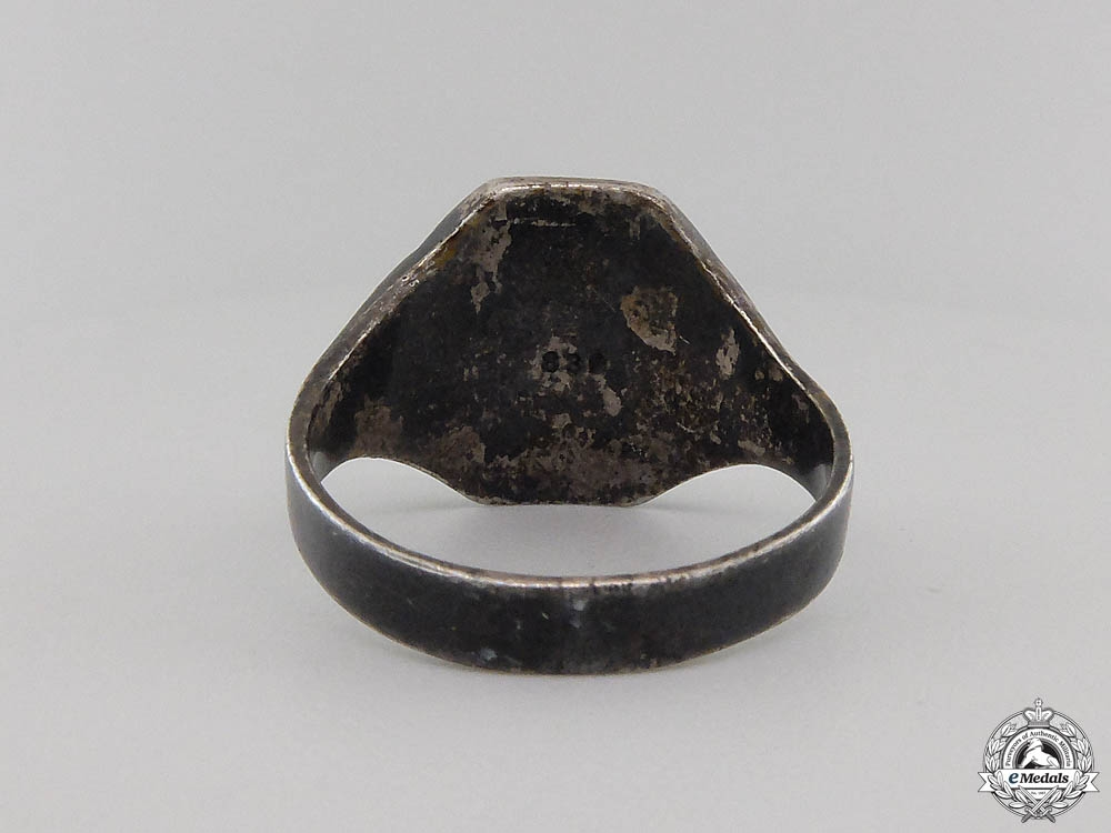 An SS Silver Ring