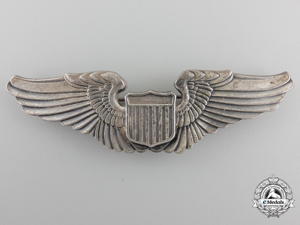 A Second War American Air Force Pilot Wing by Gemsco