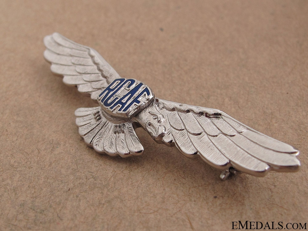 WWII Royal Canadian Air Force Wings Pin