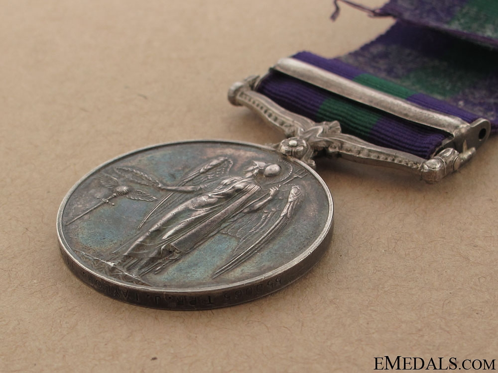 General Service Medal 1918-1962 - 11th Hussars