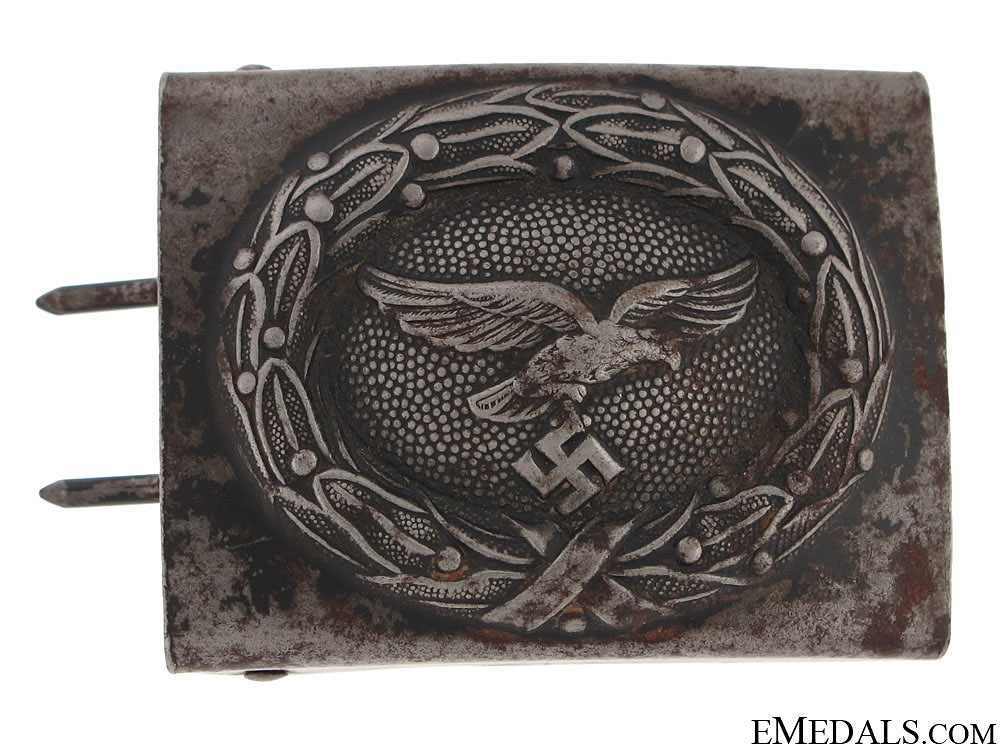 WWII Tropical Luftwaffe Belt with Buckle