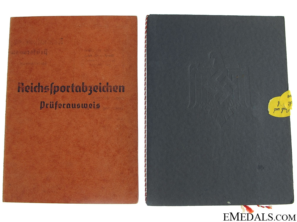 A Pair of German ID Booklets