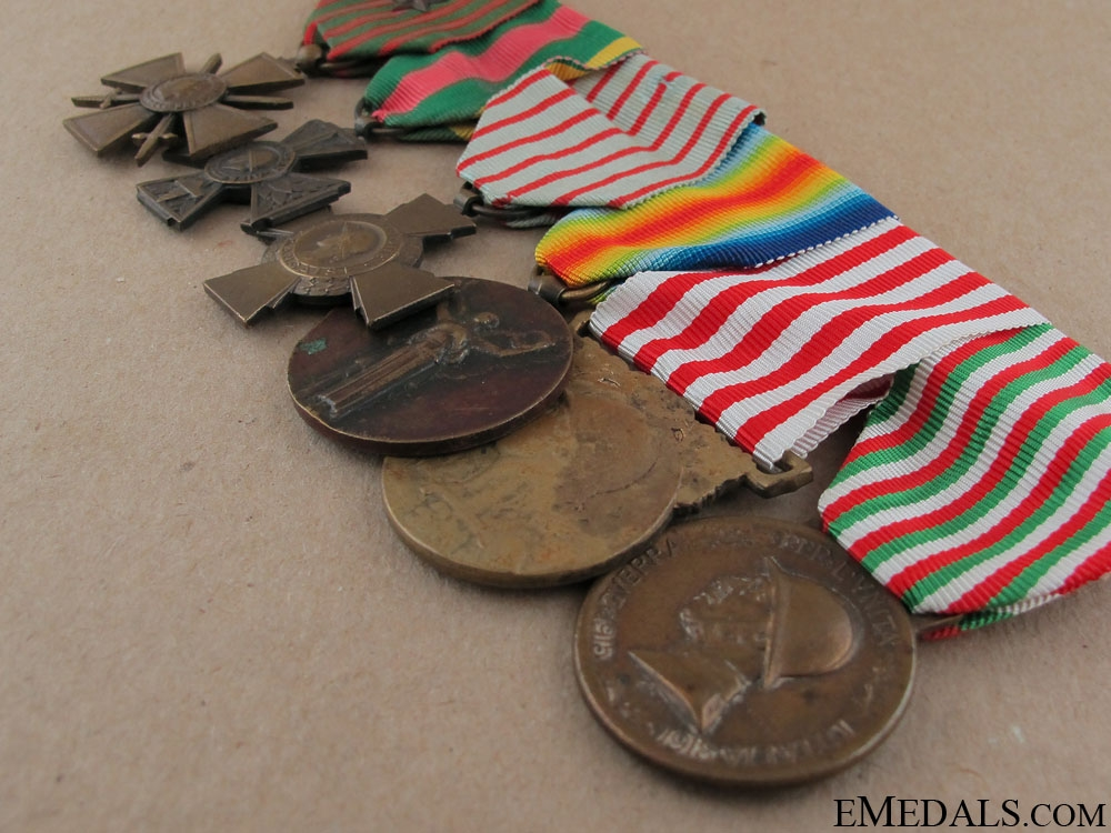 A Set of French First War Awards