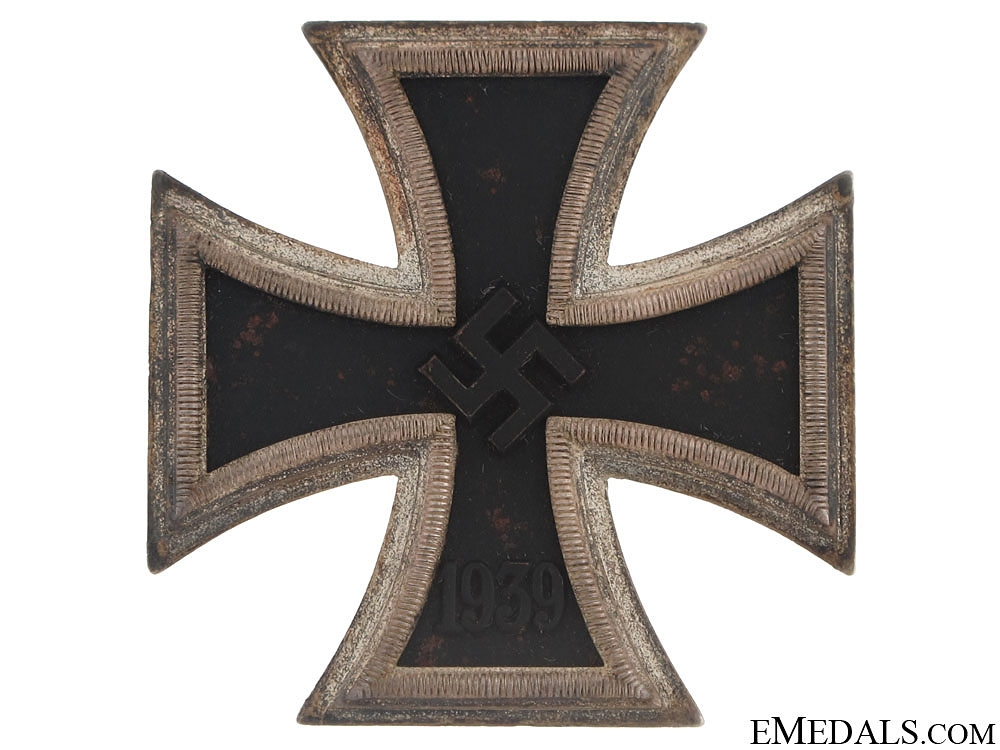 "Iron Cross 1st. Cl., - marked ""L/52"" ""20"""
