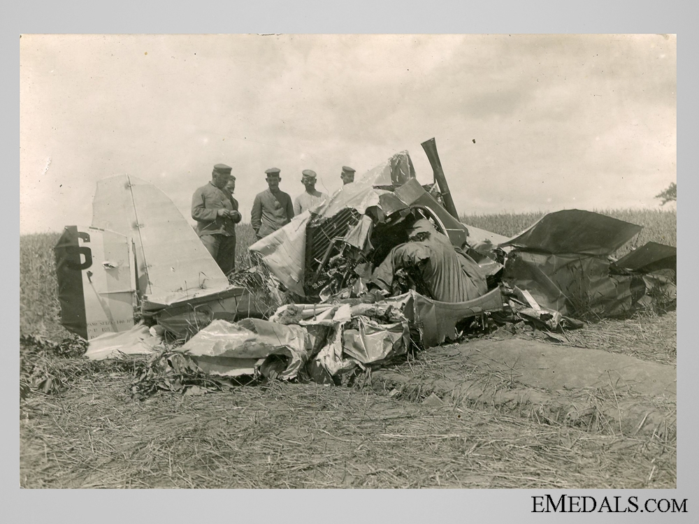 Five Private Photos of Downed Allied Planes