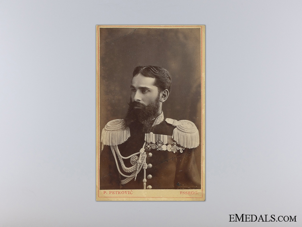 A Fine Portrait of an Imperial Russian Officer