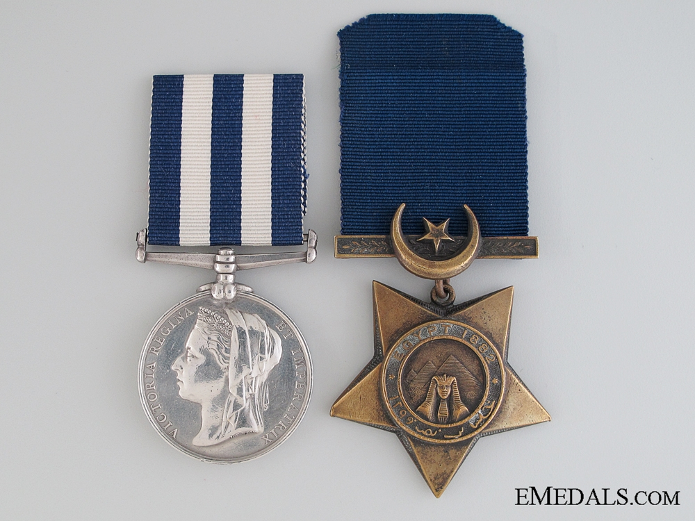 Egypt Pair, 2nd Corporal R. Carruthers, Army Hospital Corps
