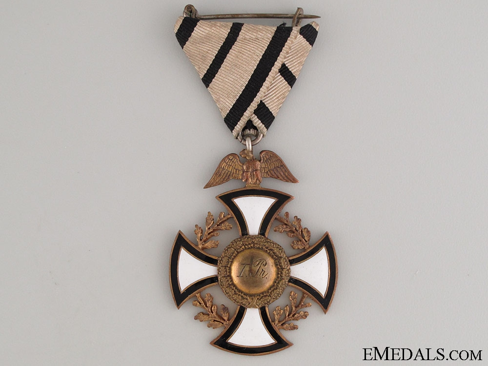 Veteran's First Place Medal 1902