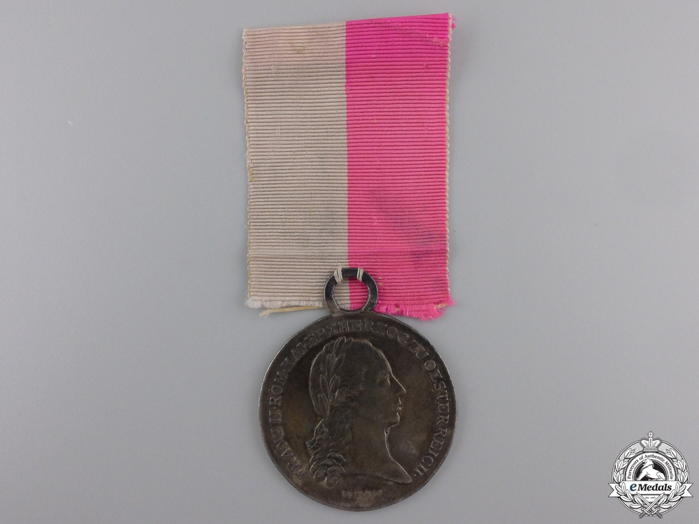 A 1797 Medal for the Lower Austrian Mobilization
