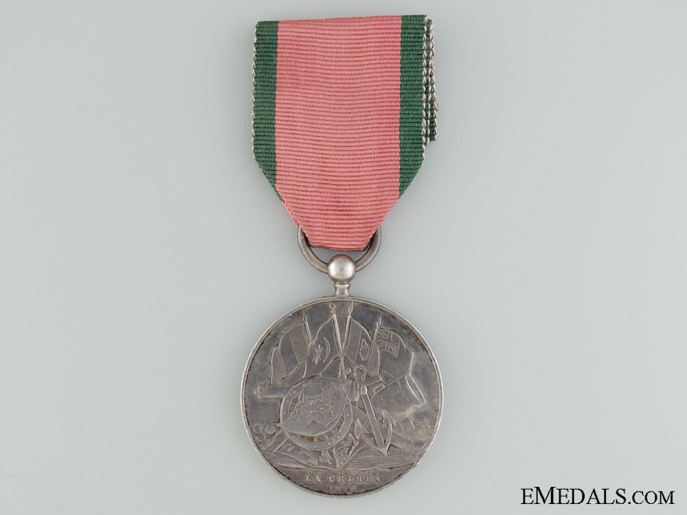 A 1855 Turkish Crimea Medal to the 21st Royal North British Fusiliers
