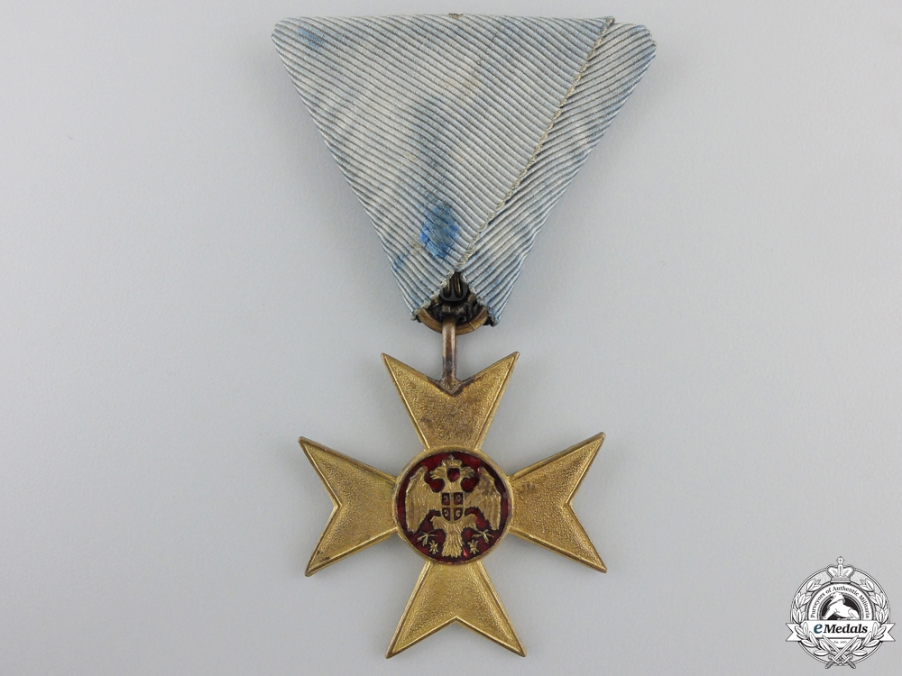 A 1912 Serbian Cross of Charity