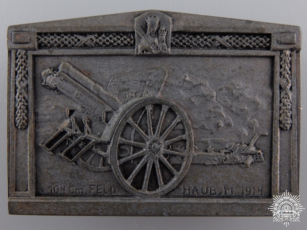 A 1914 Austrian Field Artillery Badge