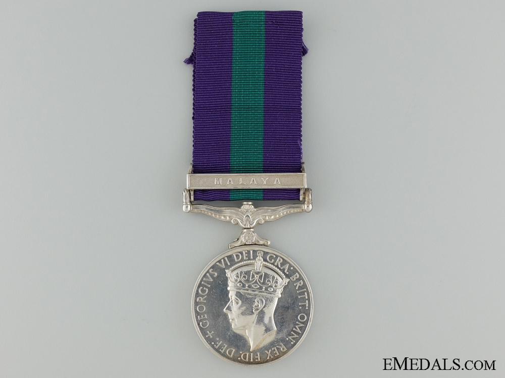 A 1918-1962 General Service Medal to the Military Police