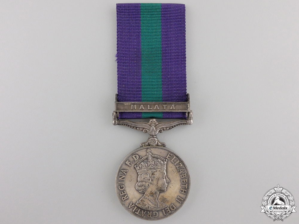 A 1962 General Service Medal to the Royal Army Service Corps
